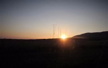 Toulky přírodou při východu slunce